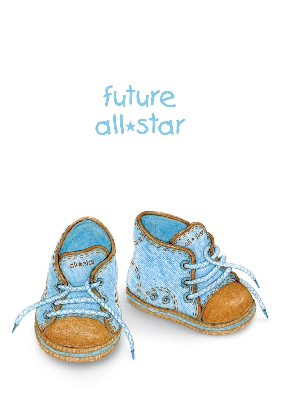 ASD023   Baby Card