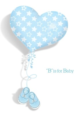 ASD038   Baby Card