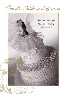 PS16012 Wedding Card