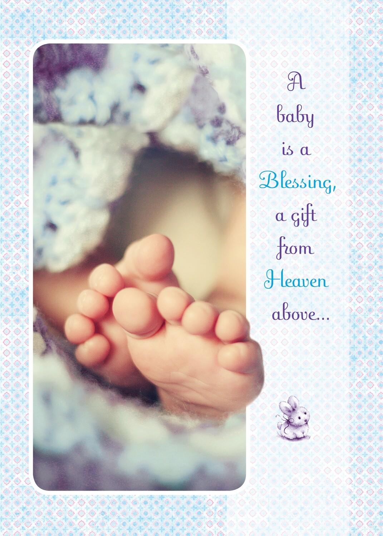 PS05011 Congratulations Baby Card