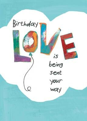BLCard012   Blank Birthday Card