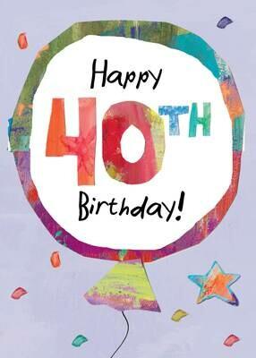 BLCard016   Blank Birthday Card