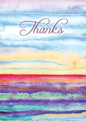BLCard063   Blank Thank You Card