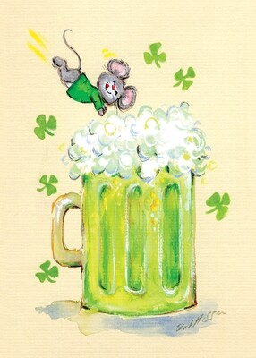 FRS7865   St. Patrick's Day Card