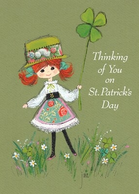 FRS7864   St. Patrick's Day Card
