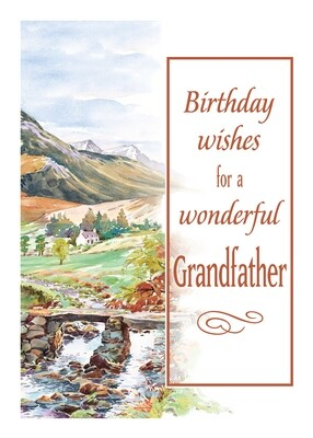FR0353   Family Birthday Card / Grandfather