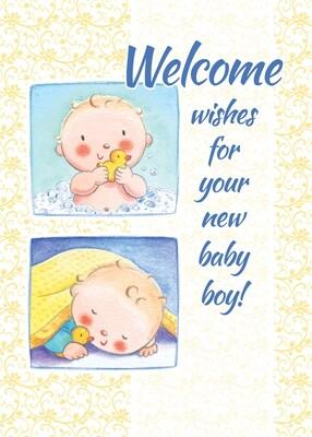 FR1887   Congratulations Baby Card