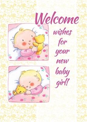 FR1886   Congratulations Baby Card