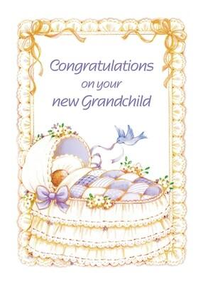 FR1889   Congratulations Baby Card