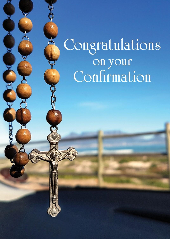 FR7012  Religious Event Card / Communion
