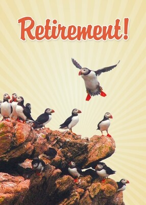 FR9903   Retirement Card