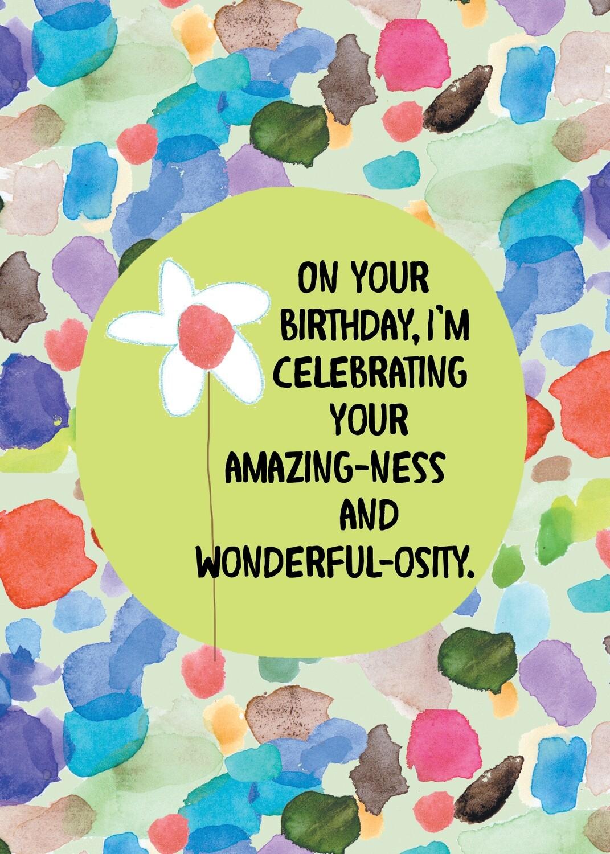 AFH287   Birthday Card