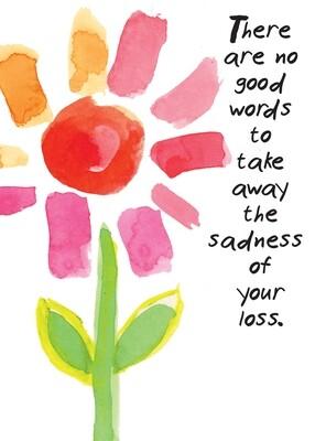 AFH296  Sympathy Card