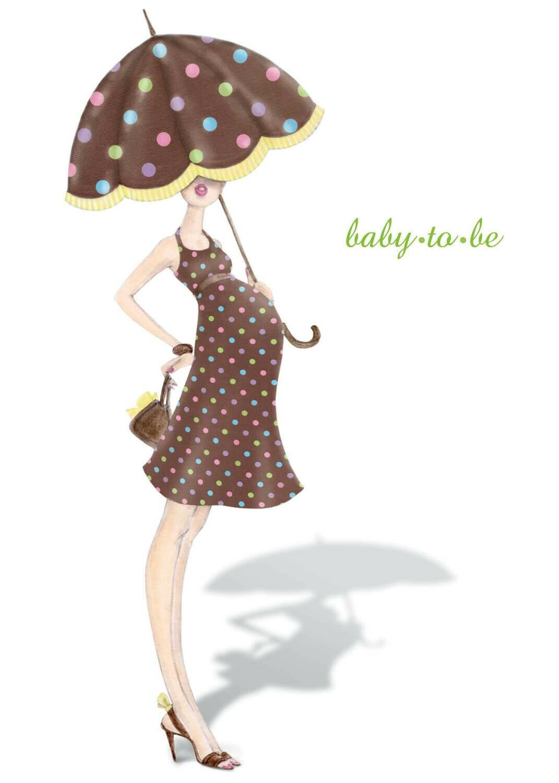 ASD060   Baby Card