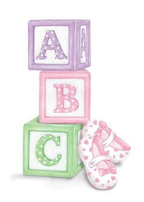 ASD059   Baby Card