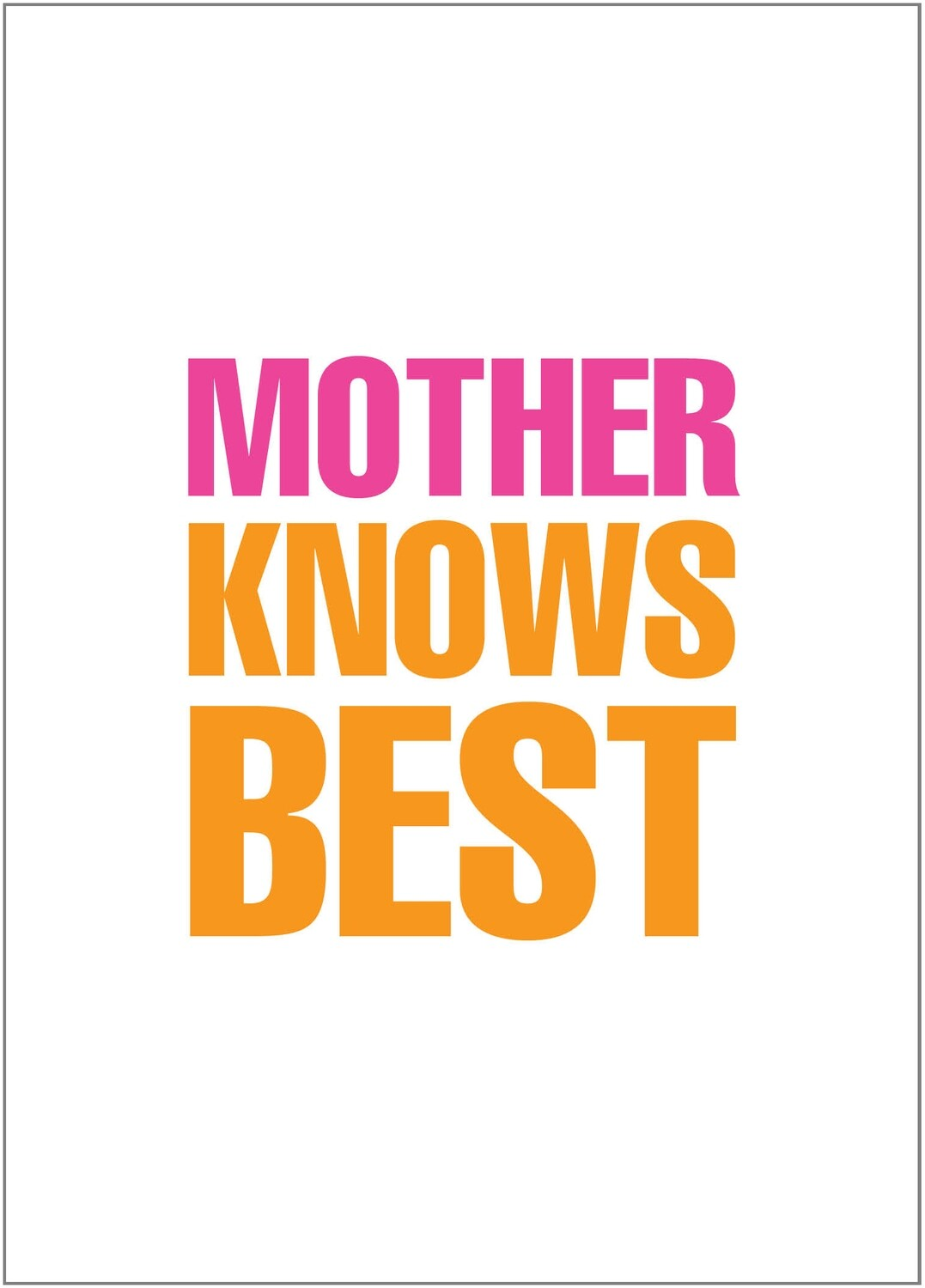 BYU094   Mother's Day Card
