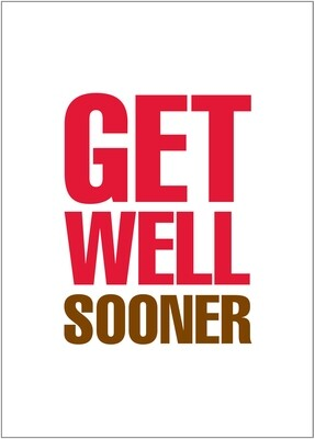 BYU099   Get Well Card