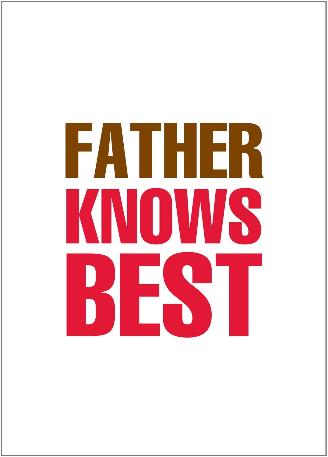 BYU131   Father's Day Card