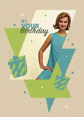 RB164   Birthday Card