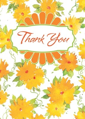 BLCard073   Blank Thank You Card