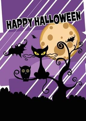 FRS 568 / 7764   Halloween Card