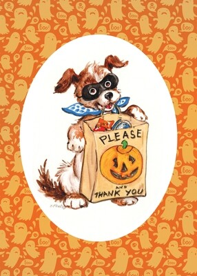 FRS 569 / 7765   Halloween Card