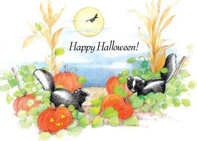 FRS 575 / 7770   Halloween Card