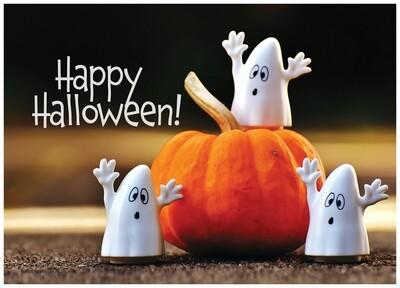 FRS 574 / 7769   Halloween Card