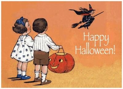 FRS 576 / 7771   Halloween Card