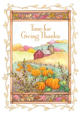 FRS 590 / 7968   Thanksgiving Card
