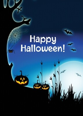 FRS 571 / 7767   Halloween Card