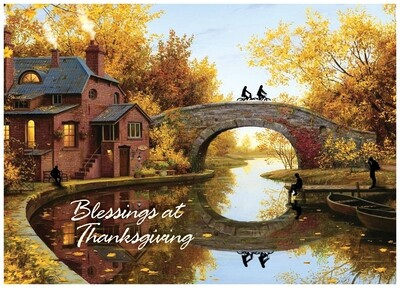 FRS 594 / 7967   Thanksgiving Card
