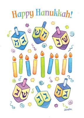 FRS 898 / 5881   Hanukkah Card