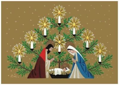 FRS 525 / 5176 Christmas Card