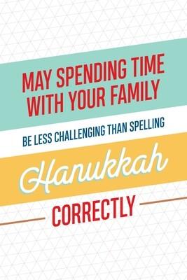 IKIH015 Hanukkah Card