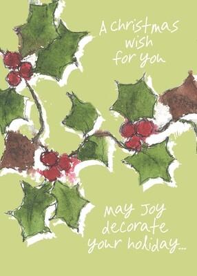 HAFH328 Christmas Card