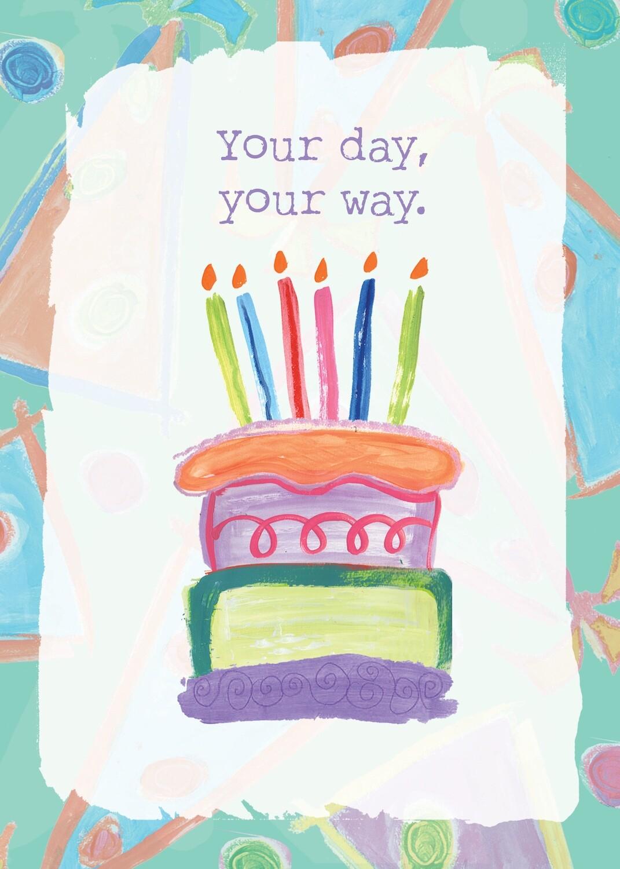 AFH207   Birthday Card