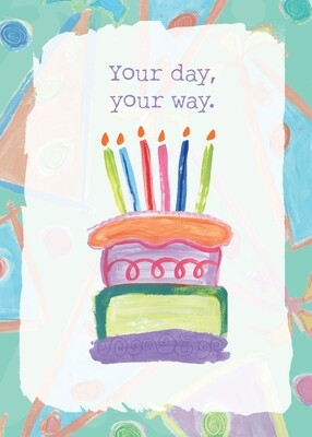 AFH207   Birthday Card