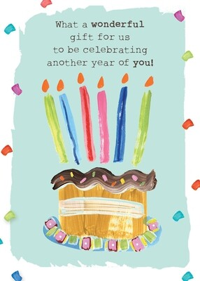 AFH004   Birthday Card