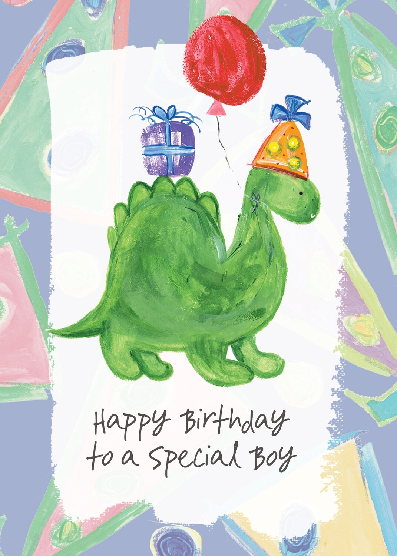 AFH210   Birthday Card / Juvenile Boy