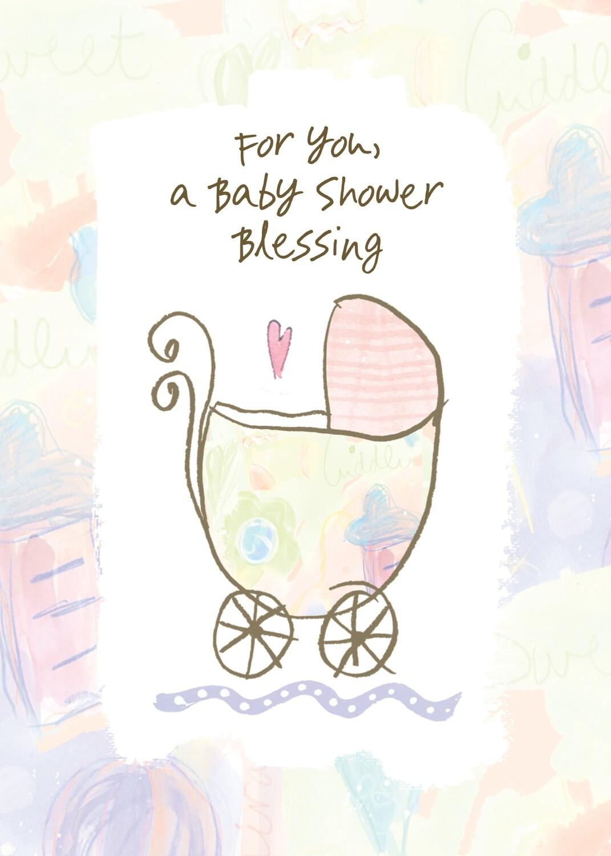 AFH220   Baby Shower Card