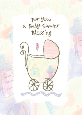 AFH220   Baby Shower Card