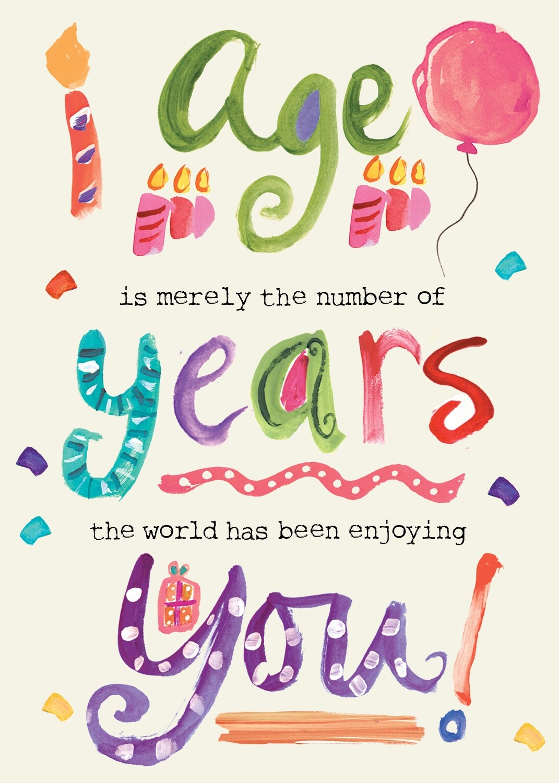 AFH009   Birthday Card