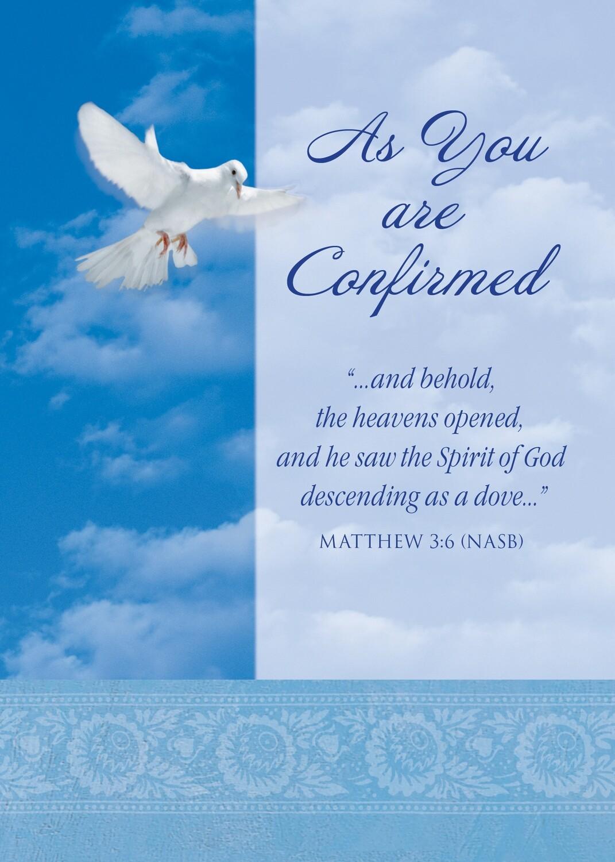 FR7069 Religious Event Card / Confirmation