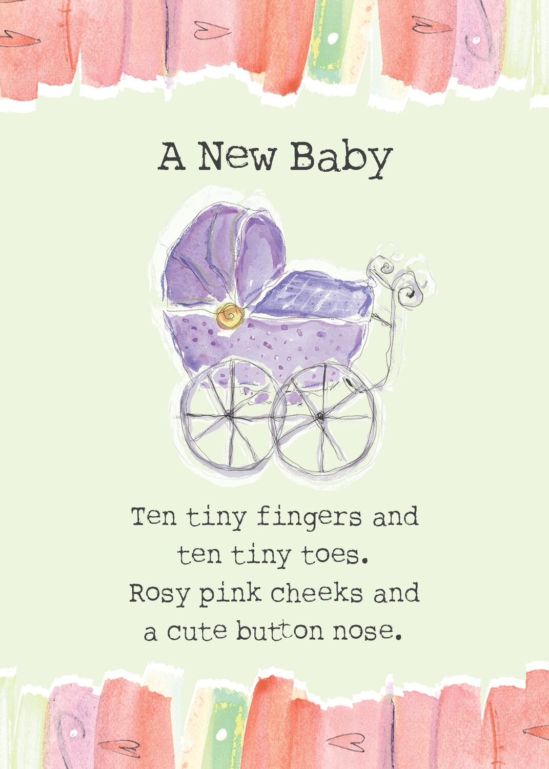 AFH045   Baby Card