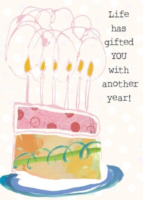 AFH014   Birthday Card