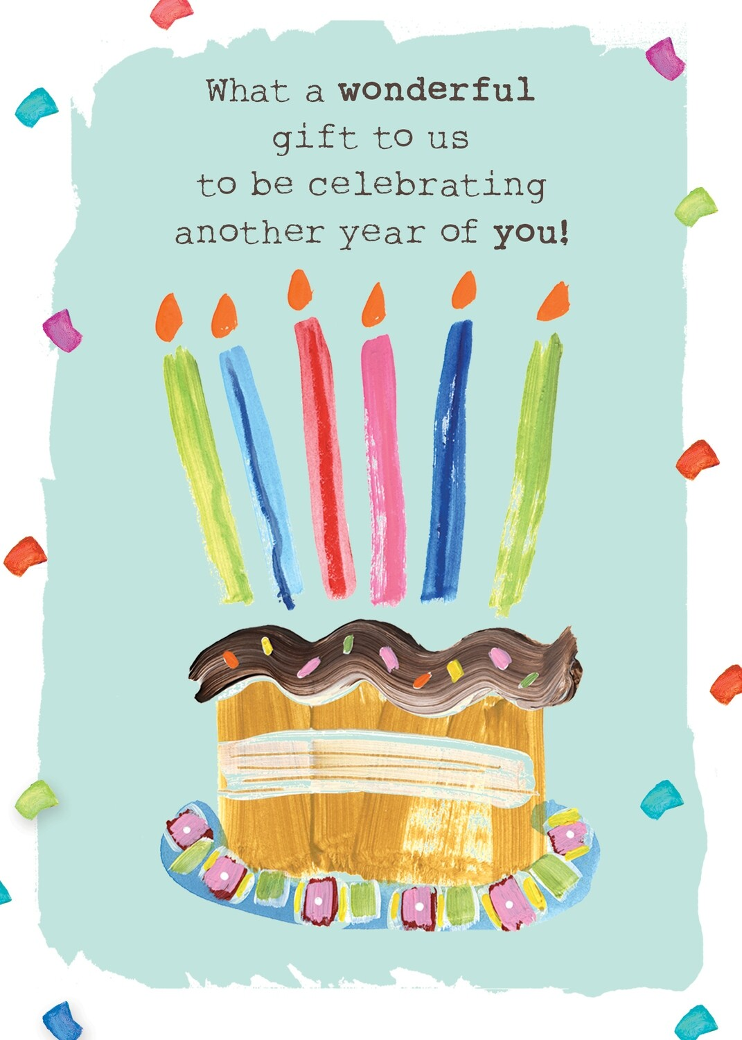 AFH004   Birthday Card