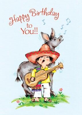 FR4734   Birthday Card