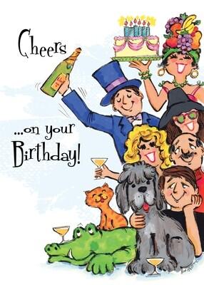 FR4732   Birthday Card
