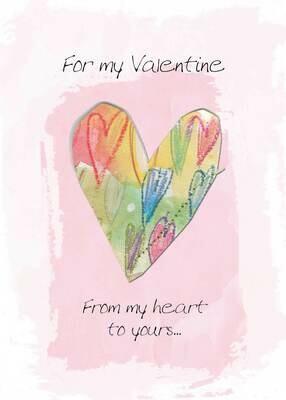 VAFH040  Valentine's Day Card